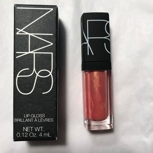 NARS Orgasm Lip Gloss *NIB* Mini Deluxe